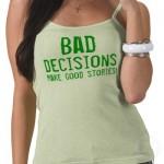 slecht besluit
